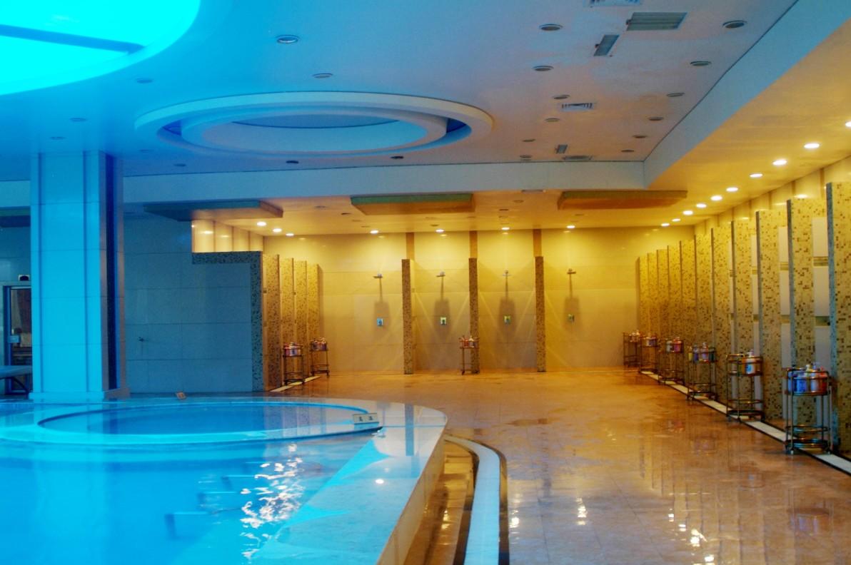 最好的洗浴中心设计效果其实就是让人们感受到