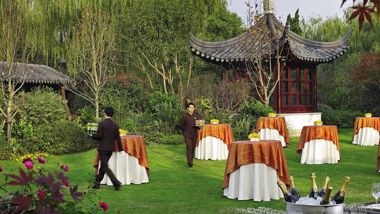 酒店案例西湖四季酒店设计中蕴藏的美学