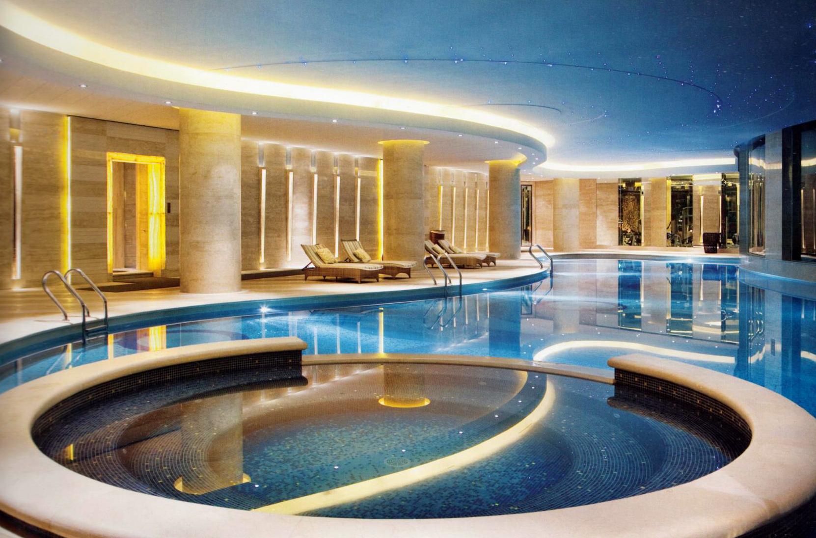 杭州千岛湖滨江希尔顿度假洗浴中心设计效果图
